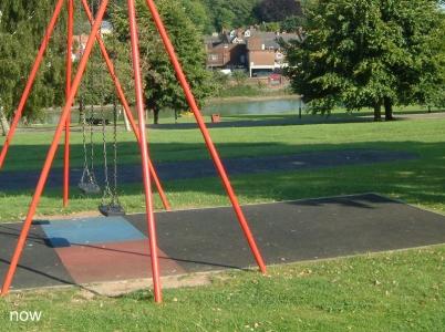 Chesham Park swings