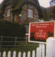 The gatehouse when Hammer owned the building