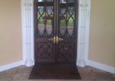 Hampden House front door