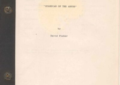Guardian of The Abyss Shooting Script