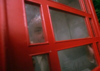 Rude Awakening telephone box