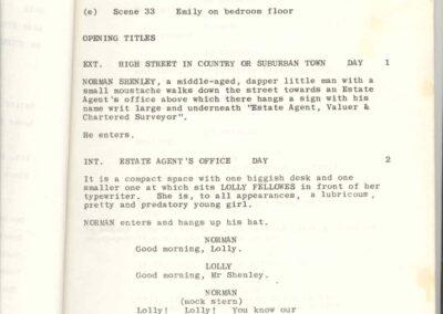 Rude Awakening Shooting Script
